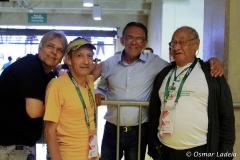 Leo Coutinho, Mario Savaget, Afonso Alberto e Benecy Queiroz
