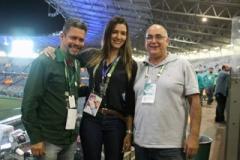 GILMAR CVALDEIRA, SANDRO ROBERO E MILLA DURA