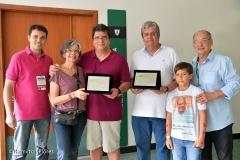 Homenageados: Paulo Papini e Fernando Brant