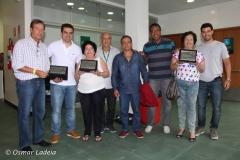 Homenagens aos Waldir de Castro, Jairo Anatólio e Dirceu Pereira